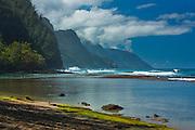 Ke'e beach, Napali coast, Kauai