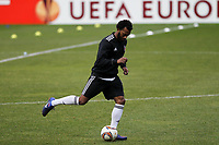 20120213: BRAGA, PORTUGAL - Manuel Fernandes at the Besiktas JK training session before UEFA Europe League match against SC Braga.<br />