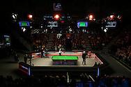 General view of the arena. Ronnie O'Sullivan (Eng) v Neil Robertson (Aus), Quarter-Final match at the Dafabet Masters Snooker 2017, at Alexandra Palace in London on Thursday 19th January 2017.<br /> pic by John Patrick Fletcher, Andrew Orchard sports photography.