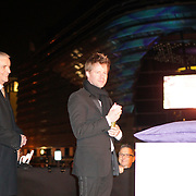 NLD/Schveningen/20120307 - Heropening Holland Casino Scheveningen, DJ Ferry Corsten, bestuursvoorzitter Dick Flink