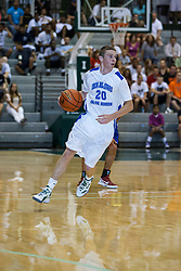23 June 2012: Andy Mazurczak.  Illinois Basketball Coaches Association (IBCA) All Star game at Shirk Center, Illinois Wesleyan, Bloomington, IL