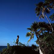 Girl looking out to sea - Goldeneye - Jamiaca