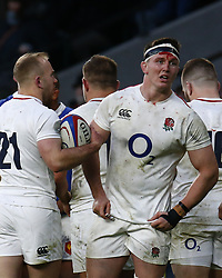 February 10, 2019 - London, England, United Kingdom - Tom Curry of England..during the Guiness 6 Nations Rugby match between England and France at Twickenham  Stadium on February 10th, 2019 in Twickenham, London,  England. (Credit Image: © Action Foto Sport/NurPhoto via ZUMA Press)