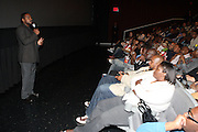 l to r: F.Gary Gray and Gerad Butler at The 13th Annual UrbanWorld Film Festival Premiere of ' Law Abiding Citizen'  held at AMC 34th Street on September 23, 2009 in New York City