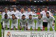 Real Madrid team against Getafe CF