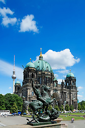 Berlin Dom or cathedral in Mitte Berlin Germany