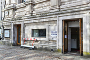 London, Britain, May 6, 2021 — A polling station is open at Methodist Central Hall in central London on Thursday for the people to cast their vote on the local and London Mayoral elections. (Photo/ Vudi Xhymshiti)