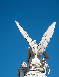 Statue on Palace  Bridge (Schlossbrucke) in Mitte Berlin Germany