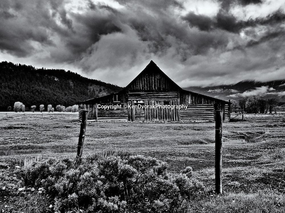 Teton/Yellowstone '13<br />edited 9/13/13<br />converted to B&W 9/13/13