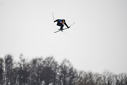 February 18, 2018 - Pyeongchang, SOUTH KOREA - 180218 Jesper Tjäder of Sweden competes in the Men's Slopestyle Qualification during day nine of the 2018 Winter Olympics on February 18, 2018 in Pyeongchang..Photo: Petter Arvidson / BILDBYRÃ…N / kod PA / 91979 (Credit Image: © Petter Arvidson/Bildbyran via ZUMA Press)
