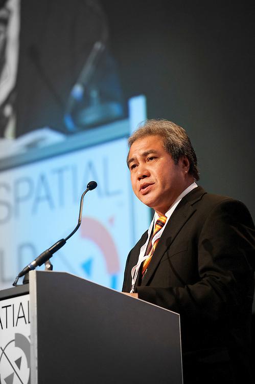 Nederland, Amsterdam, 24 april 2012.Geospatial World Forum.Rai, Amsterdam..Foto (c): Michiel Wijnbergh
