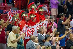 Supporters, Steve Guerdat<br /> World Cup Final Jumping - Las Vegas 2015<br /> © Hippo Foto - Dirk Caremans<br /> 20/04/2015