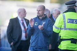 Dunfermline's manager Allan Johnston. Falkirk 2 v 0 Dunfermline, Scottish Challenge Cup played 7/9/2017 at The Falkirk Stadium.