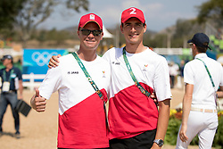 Guery Jerome, Philippaerts Nicola, BEL<br /> Olympic Games Rio 2016<br /> © Hippo Foto - Dirk Caremans<br /> 19/08/16