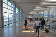 Arrivals hall at Ben Gurion international airport, Tel Aviv, Israel,