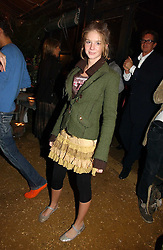 RUBY BOGLIONE at a party to celebrate the publication on 'A Year in My Kitchen' by Skye Gyngell held at The Petersham Nurseries, Petesham, Surrey on 19th October 2006.<br /><br />NON EXCLUSIVE - WORLD RIGHTS