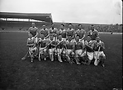 Oireachtas Final (Replay) at Croke Park, Tipperary v Wexford. Wexford Team..22.10.1961