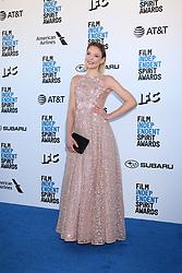 February 23, 2019 - Santa Monica, CA, USA - LOS ANGELES - FEB 23:  Victoria Jancke at the 2019 Film Independent Spirit Awards on the Beach on February 23, 2019 in Santa Monica, CA (Credit Image: © Kay Blake/ZUMA Wire)