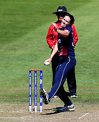 Natalie Sciver of England Women bowls - Mandatory by-line: Robbie Stephenson/JMP - 05/07/2017 - CRICKET - County Ground - Bristol, United Kingdom - England Women v South Africa Women - ICC Women's World Cup Group Stage