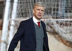 Arsenal manager Arsene Wenger arriving before the Premier League match at Selhurst Park, London, Thursday 28th December 2017