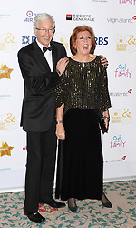 © Licensed to London News Pictures. 25/04/2014, UK. Paul O'Grady & Cilla Black. The Out In The City & g3 Readers Awards, The Landmark Hotel, London UK, 25 April 2014. Photo credit : Brett D. Cove/Piqtured/LNP