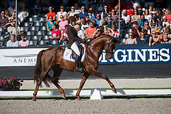 Pauluis Larissa, BEL, First Step Valentin<br /> Longines FEI/WBFSH World Breeding Dressage Championships for Young Horses - Ermelo 2017<br /> © Hippo Foto - Dirk Caremans<br /> 06/08/2017