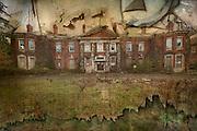 Exterior of West Park Asylum, Epsom, Surrey