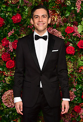 Matthew Lopez attending the Evening Standard Theatre Awards 2018 at the Theatre Royal, Drury Lane in Covent Garden, London