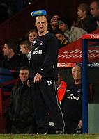Photo: Javier Garcia/Back Page Images Mobile 07887 794393<br />03/01/2005 Crystal Palace v Aston Villa, FA Barclays Premiership, Selhurst Park<br />Iain Dowie
