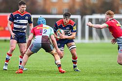 Ethan Organ of Bristol Academy U18 in action - Mandatory by-line: Craig Thomas/JMP - 03/02/2018 - RUGBY - SGS Wise Campus - Bristol, England - Bristol U18 v Harlequins U18 - Premiership U18 League