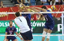 07.09.2014, Krakow Arena, Krakau, POL, FIVB WM, Italien vs USA, Gruppe D, im Bild SIMONE PARODI (P) // during the FIVB Volleyball Men's World Championships Pool D Match beween Italy and USA at the Krakow Arena in Krakau, Poland on 2014/09/07. EXPA Pictures © 2014, PhotoCredit: EXPA/ Newspix/ Tomasz Markowski<br /> <br /> *****ATTENTION - for AUT, SLO, CRO, SRB, BIH, MAZ, TUR, SUI, SWE only*****