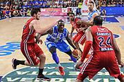 DESCRIZIONE : Campionato 2014/15 Dinamo Banco di Sardegna Sassari - Olimpia EA7 Emporio Armani Milano Playoff Semifinale Gara3<br /> GIOCATORE : Rakim Sanders<br /> CATEGORIA : Palleggio Penetrazione<br /> SQUADRA : Dinamo Banco di Sardegna Sassari<br /> EVENTO : LegaBasket Serie A Beko 2014/2015 Playoff Semifinale Gara3<br /> GARA : Dinamo Banco di Sardegna Sassari - Olimpia EA7 Emporio Armani Milano Gara4<br /> DATA : 02/06/2015<br /> SPORT : Pallacanestro <br /> AUTORE : Agenzia Ciamillo-Castoria/L.Canu