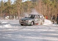 Motorsport. Numedalsrally lørdag 4. mars 2000. Trond Lyseng med Pål Iversen i kartleserstolen kjørte inn til en sterk 4. plass totalt og 2. plass i Formula 2-klassen i Numedalsrally. Trond kjører en Nissan Sunny Kit Car