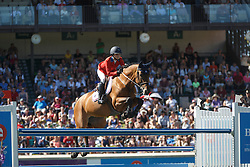 Bloomberg Georgina, (USA), Lilli<br /> BMO Nations Cup<br /> Spruce Meadows Masters - Calgary 2015<br /> © Hippo Foto - Dirk Caremans<br /> 12/09/15