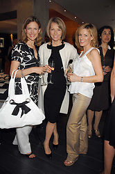 Left to right, Newsreaders KATIE DERHAM, MARY NIGHTINGALE and ANDREA CATHERWOOD at a lunch in aid of Chickenshed showcasing Ben de Lisi's Spring Summer and Autumn 2007 Collections held at the Baglioni Hotel, 60 Hyde Park gate, London SW7 on 24th April 2007.<br /><br />NON EXCLUSIVE - WORLD RIGHTS