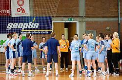 Slovenian team at practice of Slovenian Handball Women National Team, on June 3, 2009, in Arena Kodeljevo, Ljubljana, Slovenia. (Photo by Vid Ponikvar / Sportida)