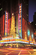 Christmas, Radio City Music Hall, Manhattan, New York