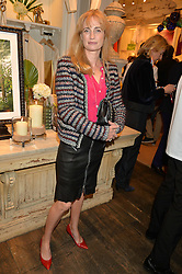 CLEMENTINE FRASER at a party to celebrate the publication of India Hicks: Island Style hosted by Princess Marie-Chantal of Greece, Saffron Aldridge and Amanda Brooks has held at Ralph Lauren, 105-109 Fulham Road, London on 28th April 2015,
