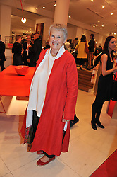 PRISCILLA CARLUCCIO at an exhibition at The Conran Shop entitled Red to celebrate 25 years of The Conran Shop at the Michelin Building, 81 Fulham Road, London on 19th September 2012.