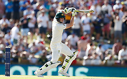 Australia's Steve Smith in action during day three of the Ashes Test match at the WACA Ground, Perth.
