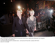 Ellen DeGeneres and Anne Heche at theVanity Fair Oscar  night party, Mortons, Los Angeles. 23 March 1988. Film 98167f34<br />Copyright Photograph by Dafydd Jones<br />66 Stockwell Park Rd. London SW9 0DA<br />Tel. 0171 733 0108