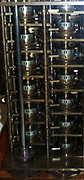 Babbage's Difference Engine, No 1, 1832.  Charles Babbage (1791-1871), an English engineer who originated the concept of a programmable computer.  In 1991, a perfectly functioning difference engine was constructed from his original plans, indicating that