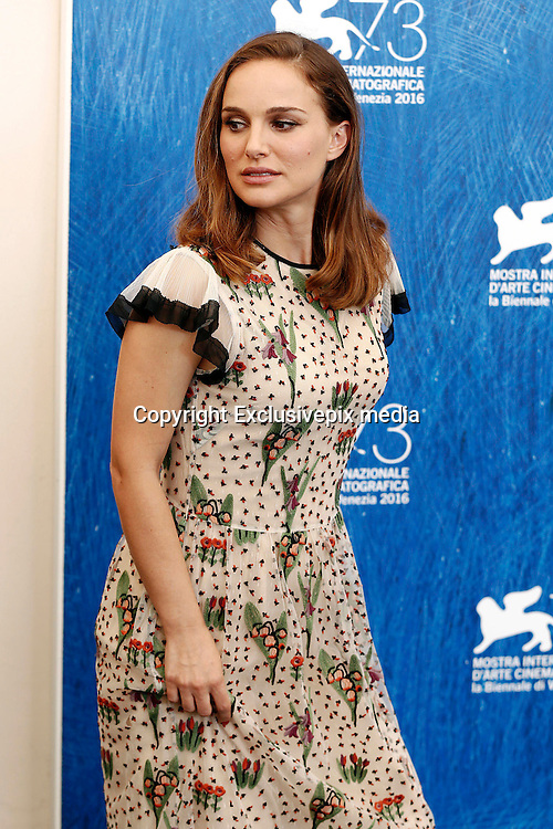 Venice <br /> Pregnant Natalie Portman at Jackie Photocall<br /> ©Exclusivepix media