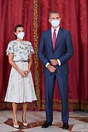 090721 Spanish Royals host lunch for Sebastian Pinera, Chilean President