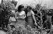 Jackie Kennedy and her daughter, Caroline, (left) in Wexford. .28.06.1967