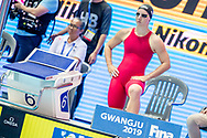 BIANCHI Ilaria ITA Italy<br /> Gwangju South Korea 21/07/2019<br /> Swimming Women's Butterfly 100m Preliminary<br /> 18th FINA World Aquatics Championships<br /> Nambu University Aquatics Center <br /> Photo © Andrea Masini / Deepbluemedia / Insidefoto
