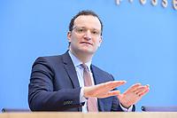 12 FEB 2021, BERLIN/GERMANY:<br /> Jens Spahn, CDU, Bundesgesundheitsminister, Pressekonferenz zur Corona-Lage im Lockdown, Bundespressekonferenz<br /> IMAGE: 20210212-01-013<br /> KEYWORDS: Corvid-19