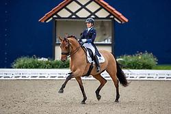 HAGELSTAM Stella (FIN), New Hill Julitrea<br /> Hagen - Horses and Dreams 2019<br /> Grand Prix de Dressage CDI4* Special Tour<br /> 27. April 2019<br /> © www.sportfotos-lafrentz.de/Stefan Lafrentz