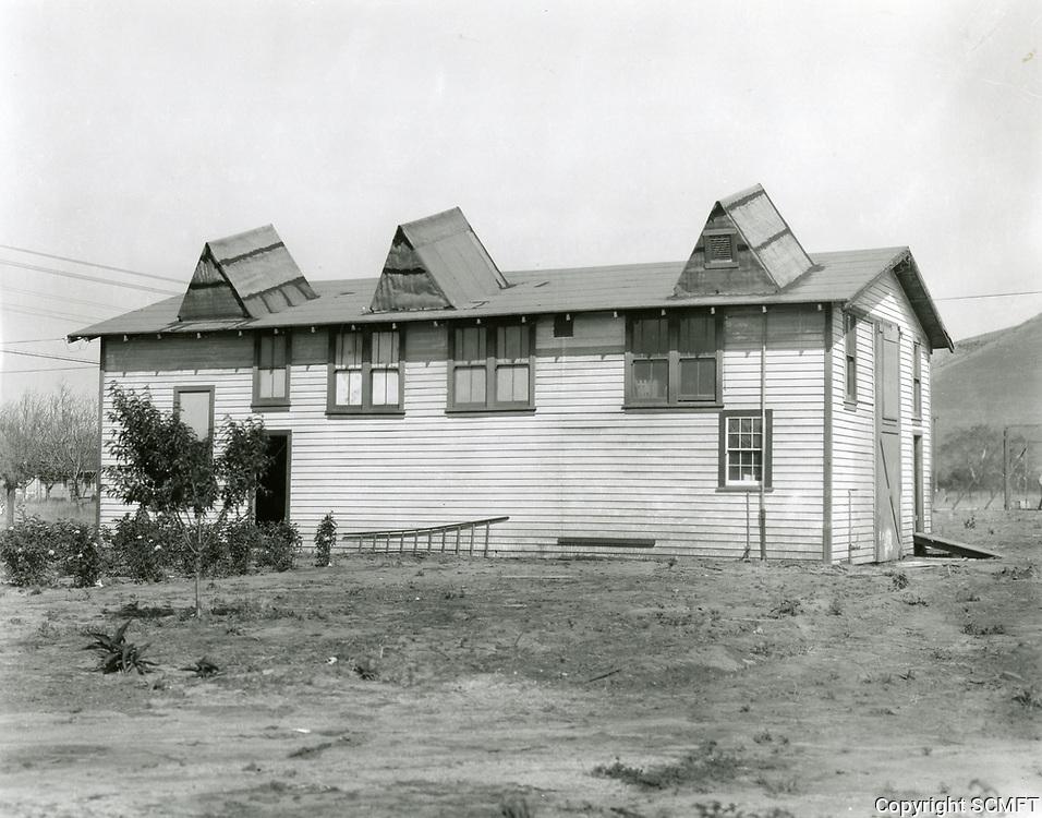 1925 Backlot of DeMille Studios in Culver City