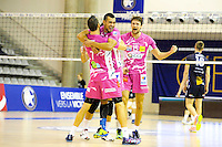 Joie Sete / Toafa Takaniko - 20.12.2014 - Paris Volley / Sete - 12eme journee de Ligue A<br /> Photo : Andre Ferreira / Icon Sport